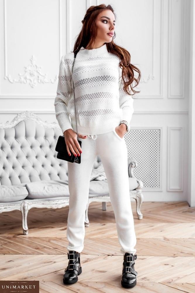 женский вязаный костюм купить в онлайн магазине Unimarket
