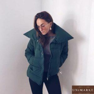 купить изумрудную куртку