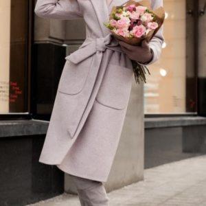 купить бежевое кашемировое пальто