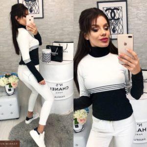 купить черный гольф женский Украина