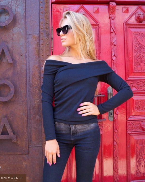 купить женский джемпер черный в Киеве