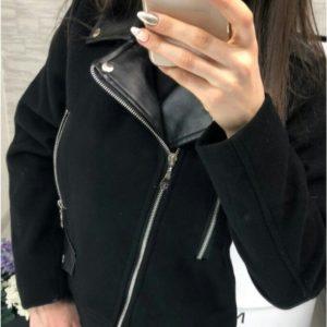 женская турецкая теплая кашемировая куртка по низкой цене