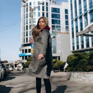 купить зимнее кашемировое пальто с мехом украина