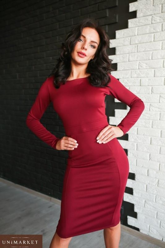 0c5428e3f6e Женское Платье из джерси купить в онлайн магазине - Unimarket