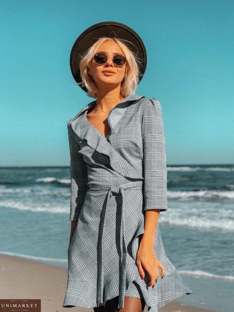 16febc4989a Женское Платье с имитацией запаха купить в онлайн магазине - Unimarket