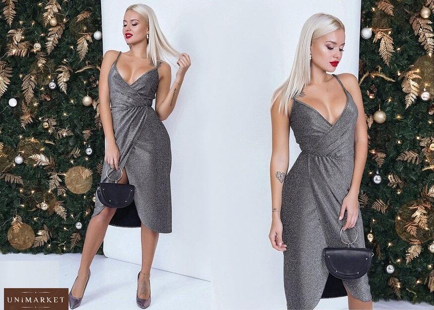 09e4cefa036 заказать черное-серебристое женское вечернее платье оптом в Украине