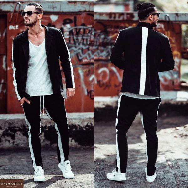 заказать Спортивный Костюм в стиле casual с пиджаком оптом