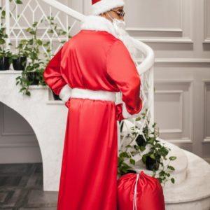 Заказать костюм санта клауса на новый год красного цвета недорого