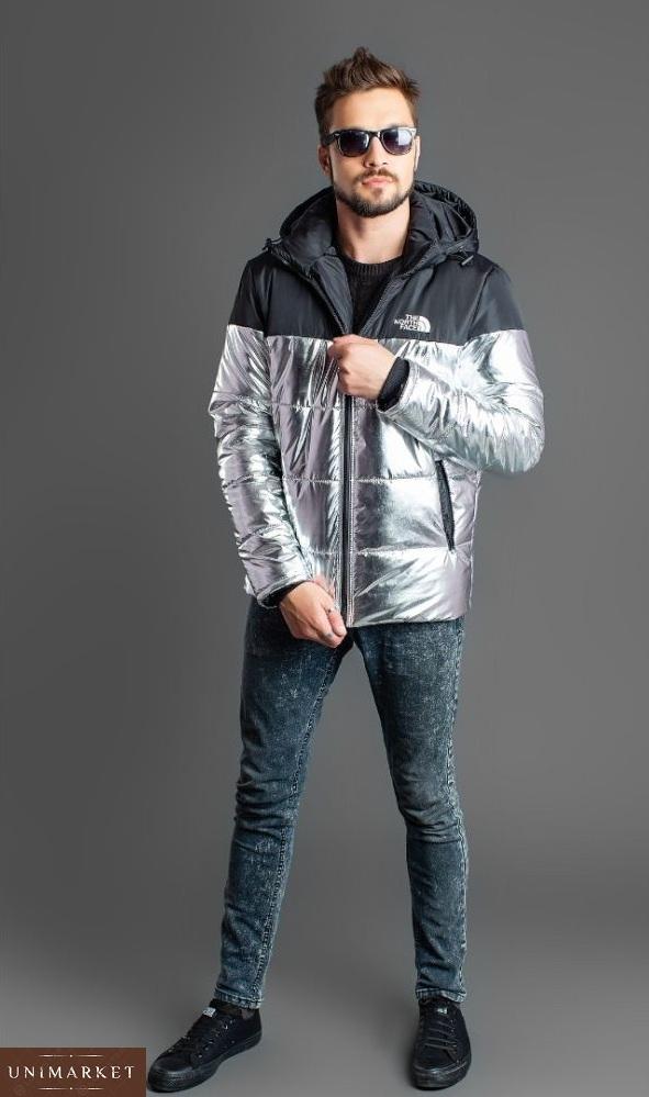 Купить мужскую зимнюю куртку The North Face дешево