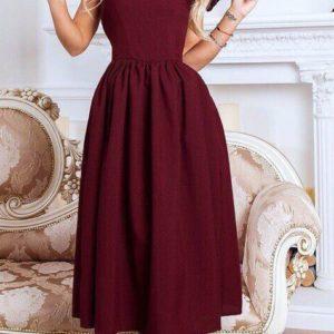 Заказать платье цвета марсала на новогоднюю фотосессию