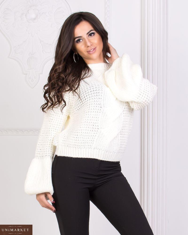 женский турецкий вязаный свитер купить в онлайн магазине Unimarket