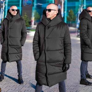 Купить: черная мужская куртка на зиму