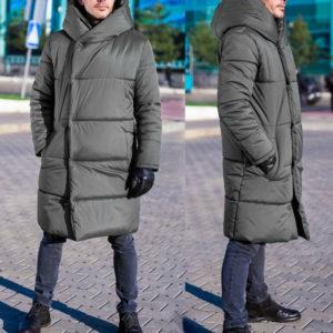 Заказать: серая мужская куртка на зиму
