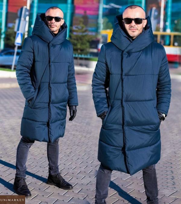 Приобрести: синяя мужская куртка на зиму
