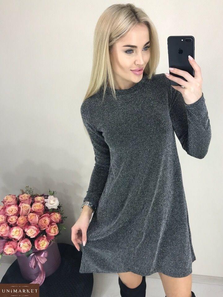 e88e340b3a40c7 Жіноча Сукня з люрексу купити в онлайн магазині - Unimarket