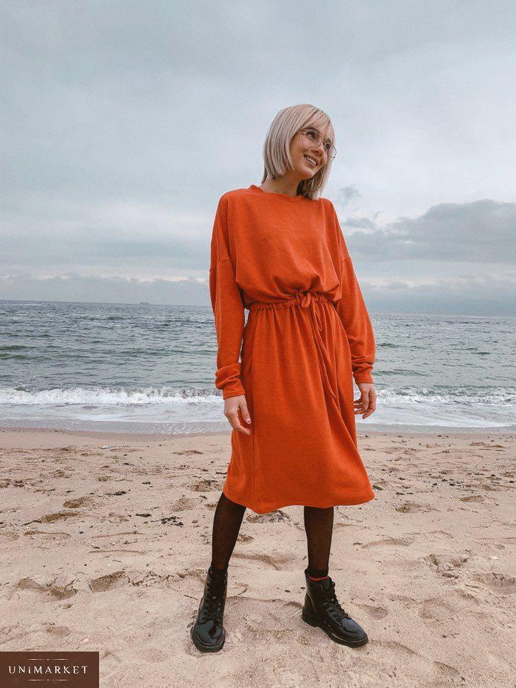 a1c84cdc31a803 Жіноча Сукня з ангори з поясом купити в онлайн магазині - Unimarket