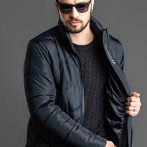 Заказать черную куртку мужскую moncler зимнюю оптом