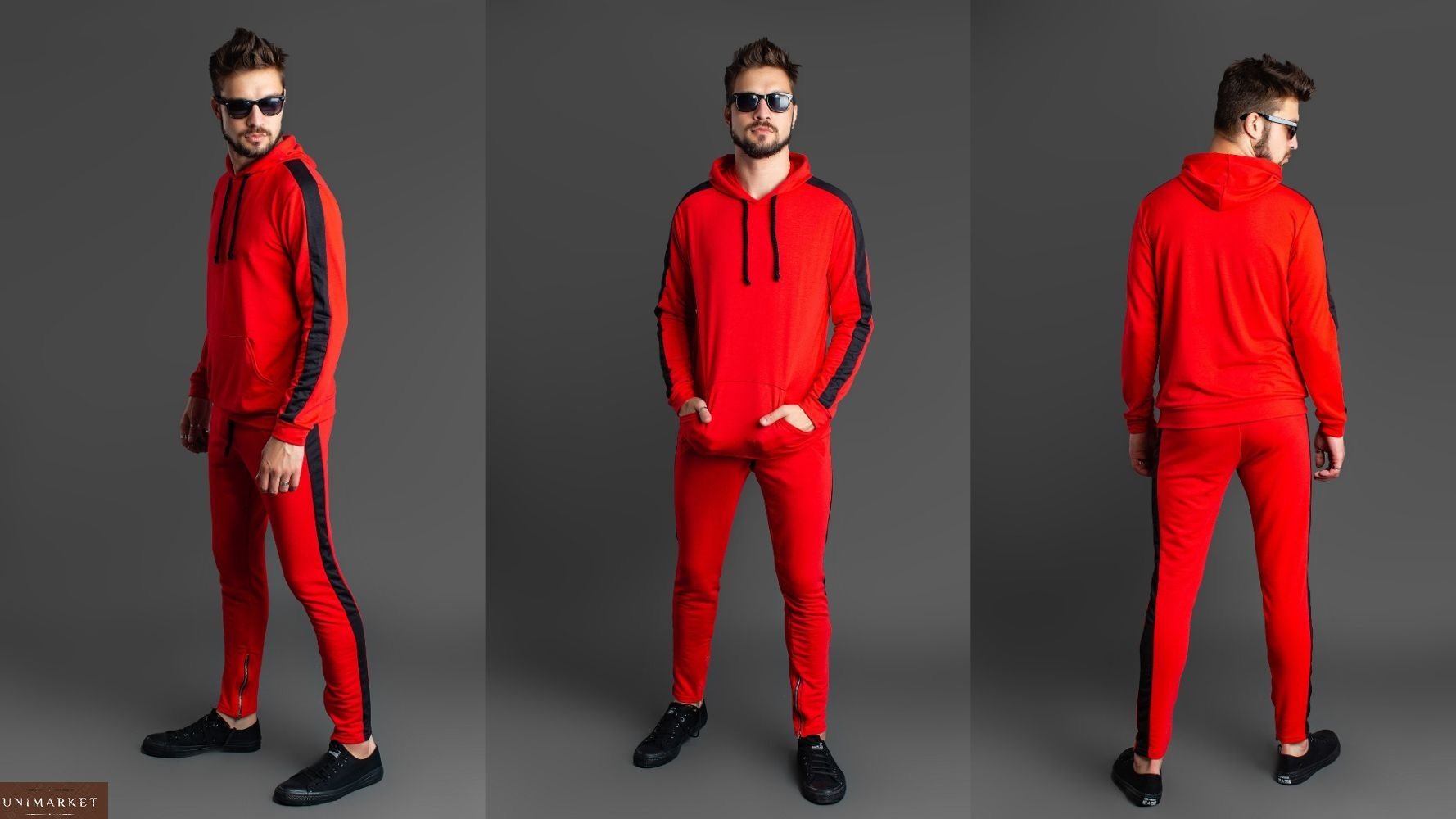 6720af8a05595 Мужской Спортивный костюм с лампасами купить в онлайн магазине ...