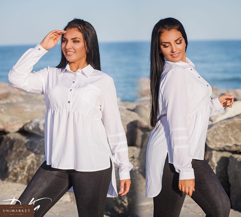 580700ed852 Женская Стильная рубашка туника купить в онлайн магазине - Unimarket