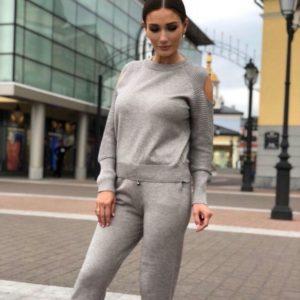 Купить в интернет-магазине женский прогулочный серого цвета дешево