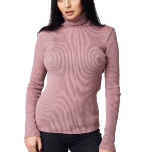 Купить в интернет-магазине женский гольф oversize цвета пудры недорого