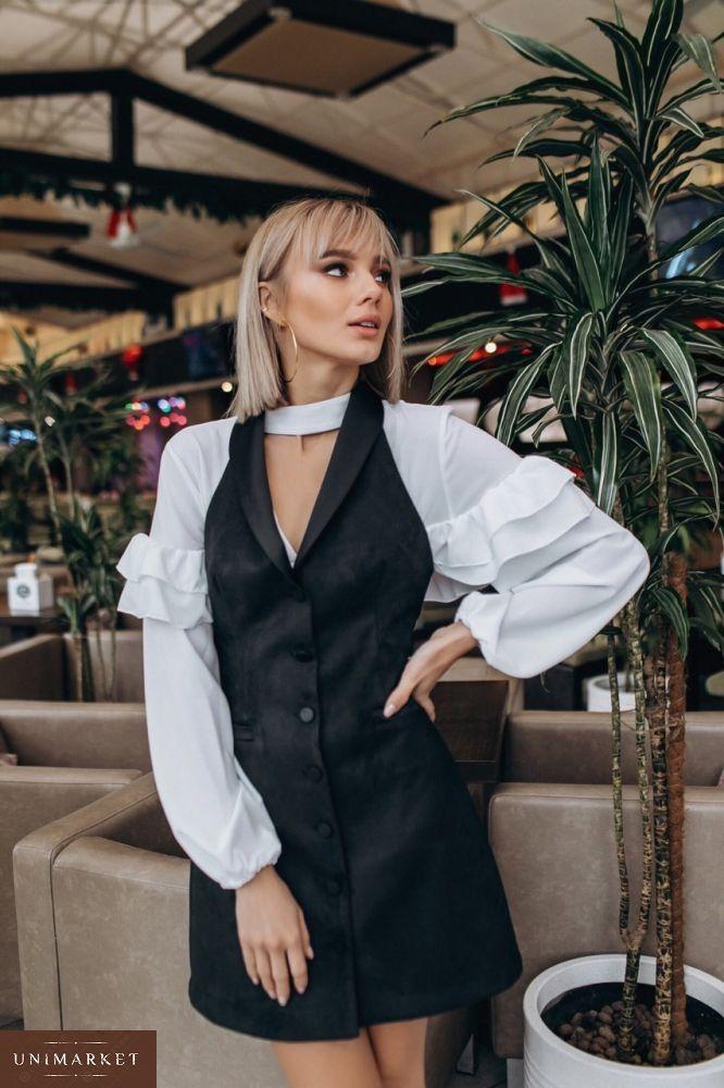 f861ff1f930 Женская Белая блузка с пышными рукавами купить в онлайн магазине ...