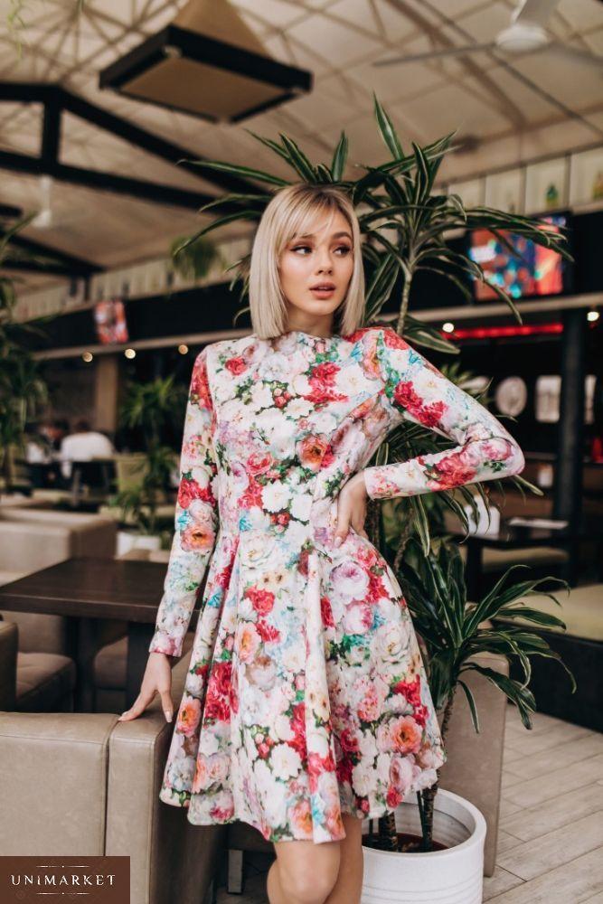 cd2f0d79cb5b11 Жіноча Сукня з квітковим принтом купити в онлайн магазині - Unimarket