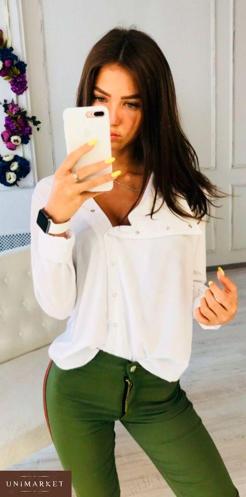 855cde82f13 Женская Рубашка на кнопках купить в онлайн магазине - Unimarket