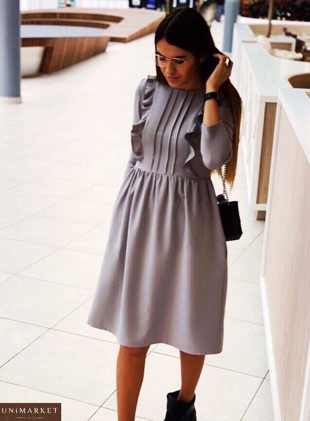 d05ef13f4469ce5 Женское Платье из костюмного крепа купить в онлайн магазине - Unimarket