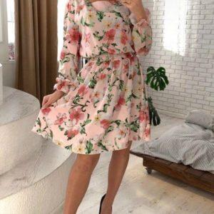 Приобрести платье из хлопка с вискозой для женщин