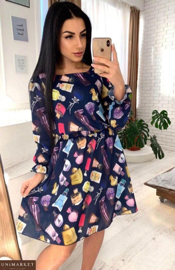 Заказать женское платье из хлопка с вискозой