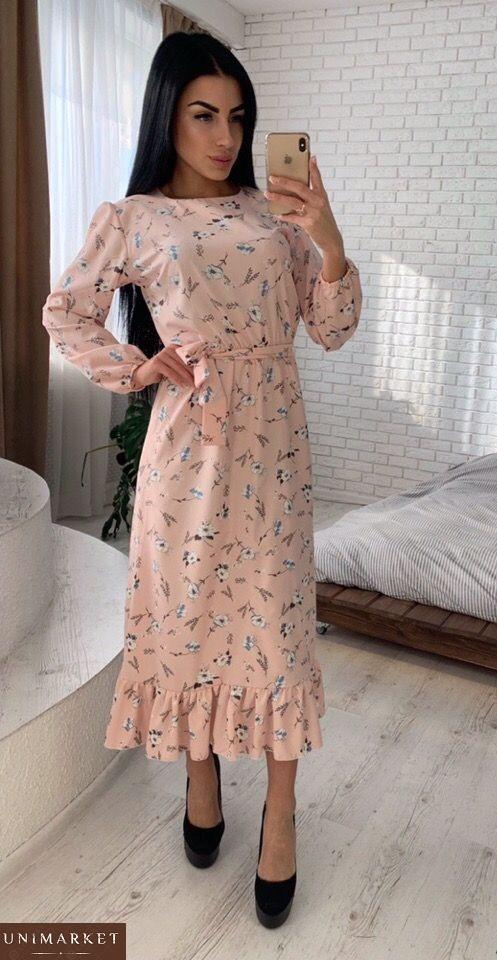 73c6545618e8cfd Заказать длинное летнее платье из хлопка для женщин. Купить длинное летнее женское  платье ...
