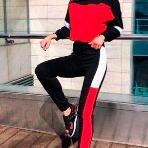 Купить в интернет-магазине женский спортивный трикотажный костюм недорого