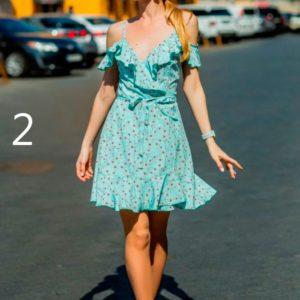 Приобрести дешево платье женское с открытыми плечами больших размеров с цветочным принтом оптом Украина