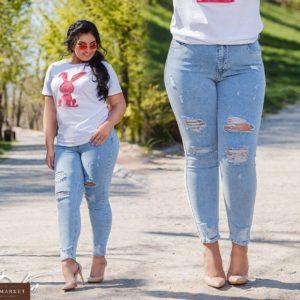Заказать недорого женские джинсы стрейчевые мом размеров в подарок