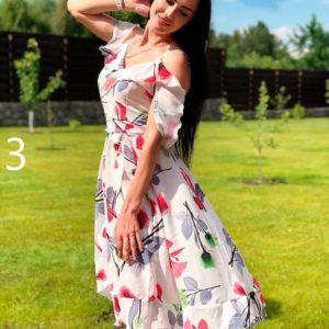 Купить в интернет-магазине женское платье из супер софта летящего покроя большого размера недорого