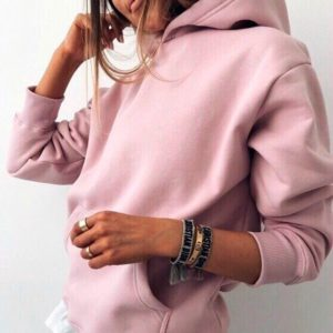 Заказать в интернет-магазине женскую худи из двухнитки розового цвета батал дешево