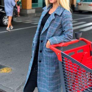 Заказать в подарок женское кашемировое пальто на подкладке оптом Украина