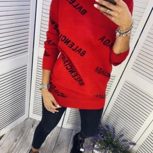 Длинный свитер Баленсиага