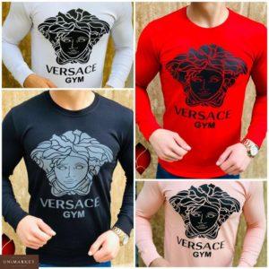 Купить дешево мужской джемпер Versace GYM демисезонный батал недорого