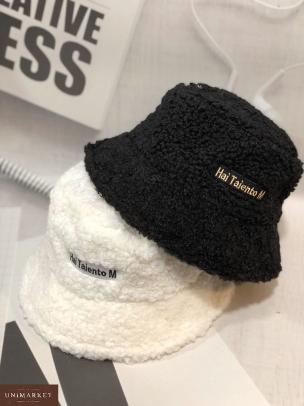 Приобрести в интернет-магазине женскую шляпу панаму зимнюю из каракуля hai taiento m белого цвета дешево