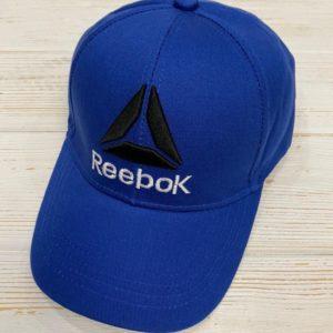 Заказать в подарок женскую кепку с регулятором Reebok синего цвета дешево