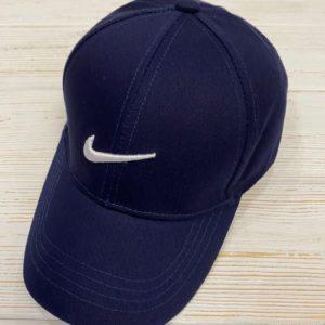 Заказать в подарок кепку женскую Nike темно-синего цвета дешево