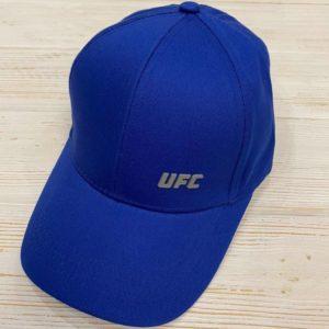 Заказать в подарок кепку женскую UFC цвета синего дешево