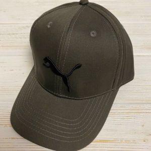 Заказать в подарок женскую кепку PUMA цвета хаки дешево