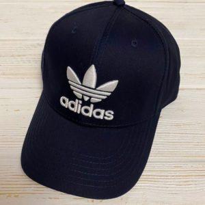 Заказать в подарок кепку женскую ADIDAS темно-синего цвета дешево