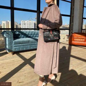 Купить женское лиловое облегченное пальто без подкладки выгодно в Одессе, Киеве, Днепре, Харькове