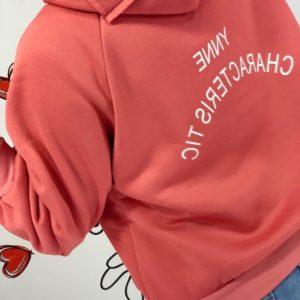Заказать женский Коралловый теплый батник на флисе в Украине