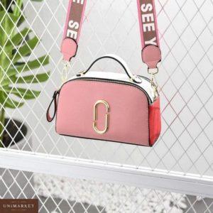 Приобрести недорого женская сумка марк джейкобс розовая из эко кожи оптом Украина