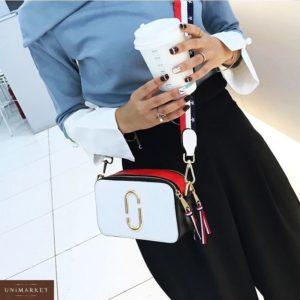 Приобрести дешево сумка женская Marc Jacobs белого цвета недорого